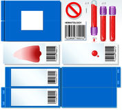 Hematology Test Complete Set Stock Photography