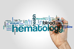 Free Hematology Word Cloud Royalty Free Stock Photography - 90690657