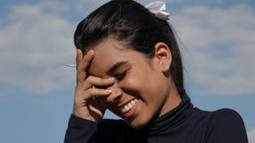 Hembra de risa de Latina Fotografía de archivo libre de regalías
