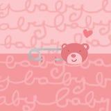 Hembra del contacto de seguridad del oso del bebé Imagenes de archivo
