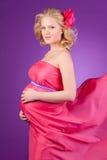 Hembra joven embarazada Imagen de archivo