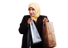 Hembra musulmán joven imagen de archivo libre de regalías
