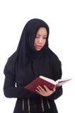 Hembra musulmán joven Foto de archivo libre de regalías