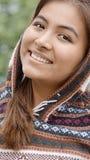 Hembra sonriente de Latina Imágenes de archivo libres de regalías