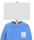 Hemd und whiteboard Stockbilder