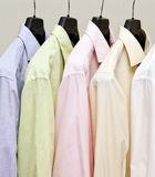 Hemden Stockfoto