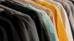 Hemden im Speicher stock video footage