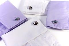 Hemdes mit Manschettenknöpfen Stockfotografie