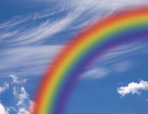 Hemel 1 van de regenboog royalty-vrije stock foto