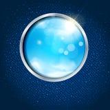 hemel door het venster Royalty-vrije Stock Afbeelding