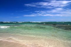 Hemel en Oceaan Stock Foto