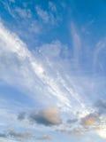 Hemel en verschillende wolken Royalty-vrije Stock Foto