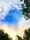 Hemel en wolk Stock Afbeelding