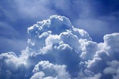 Hemel en wolk Royalty-vrije Stock Afbeeldingen