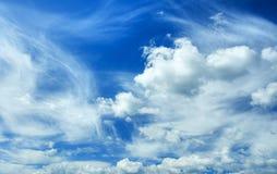 Hemel en wolk Stock Fotografie