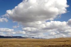 Hemel en wolk Stock Foto
