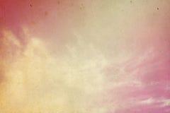 Hemel en wolken Stock Fotografie