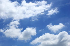 Hemel en wolken royalty-vrije stock foto