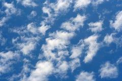 Hemel en wolken Royalty-vrije Stock Foto's