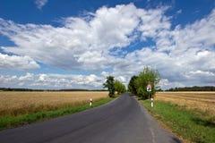 Hemel en Wolkenachtergrond Stock Foto