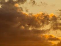 Hemel en wolkenachtergrond stock fotografie