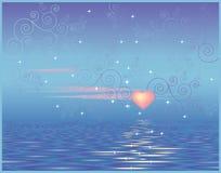 Hemel liefde Stock Afbeelding