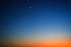 Hemel met sterren. royalty-vrije stock foto's