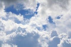 Hemel met stormachtige wolken Royalty-vrije Stock Fotografie