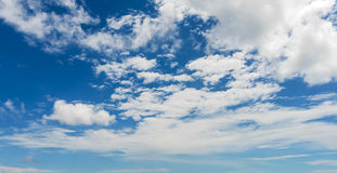 Hemel met wolk Royalty-vrije Stock Afbeelding