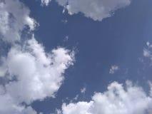 Hemel met wolken Royalty-vrije Stock Afbeelding
