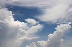 Hemel met wolken Stock Foto's
