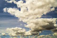 Hemel met wolken Stock Fotografie
