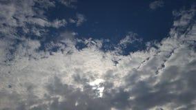 Hemel met wolken Stock Afbeelding