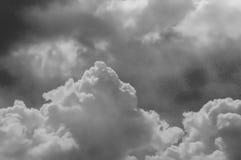 Hemel met Wolkenachtergrond Royalty-vrije Stock Fotografie