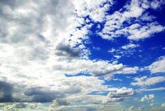 Hemel, stratosfeer in openlucht, ruimteweer, kleur, wolk, dag Royalty-vrije Stock Afbeelding