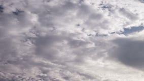 Hemel & van de Wolkentijd Tijdspannevideo stock footage