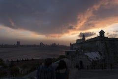 Hemel van Havana Stock Foto