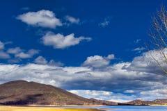 Hemel van Rocky Mountain Springtime stock foto's