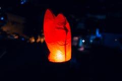 Hemellantaarns, vliegende lantaarns, drijvende lantaarns, luchtballonnen Royalty-vrije Stock Afbeeldingen