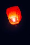 Hemellantaarns, vliegende lantaarns, drijvende lantaarns, luchtballonnen Stock Afbeelding