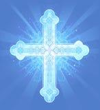 Hemels kruis Stock Illustratie