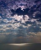 Hemels licht stock afbeeldingen