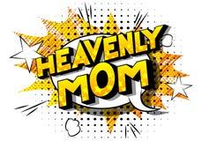 Hemels Mamma - de Grappige woorden van de boekstijl stock illustratie