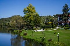 Hemels park Royalty-vrije Stock Afbeelding