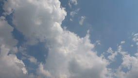 Hemels Sunny Sky Clouds Time Lapse stock video