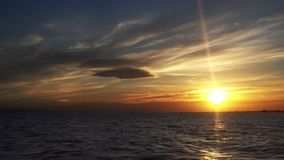 Hemels Sunny Sky Clouds Time Lapse stock videobeelden