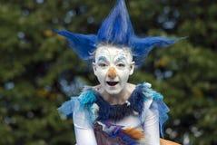 Hemelse Carrousel, de prestaties van het straattheater Stock Afbeeldingen