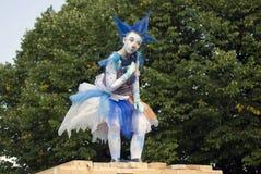Hemelse Carrousel, de prestaties van het straattheater Royalty-vrije Stock Foto's