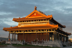 Hemelse Koningin Buddhist Temple in Footscray, Australië stock afbeeldingen