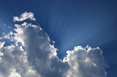 Hemelse Wolken Royalty-vrije Stock Afbeeldingen